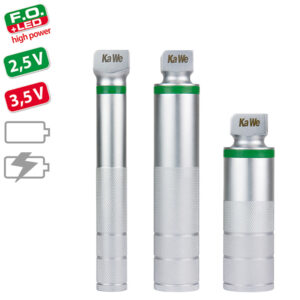 F.O. LED hp Batterie-/Ladegriffe 2,5V / 3,5V