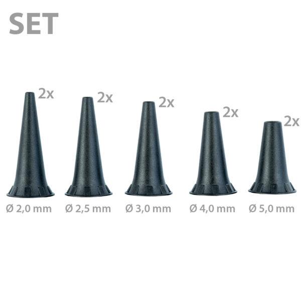 Dauer-Ohrtrichter-Set